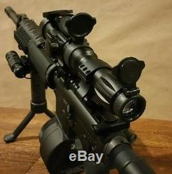 RED DOT SIGHT & 5x MAGNIFIER FTS Mount eotech aimpoint vortex tactical scope