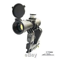 RUSSIAN BelOMO PK-AB Collimator Scope Optical Rifle Sight Red Dot Side Rail