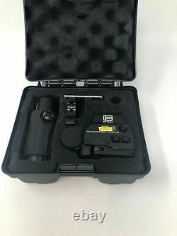 Reflex Holographic Red Green Dot 558+G33 Magnifier Airsoft Scope Sight QR Desert