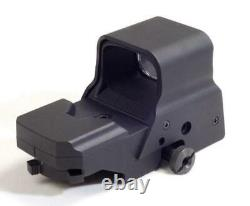 Reflex Sight Red Green Dot Digital 8 Reticle with with QD Mount Rechargeable