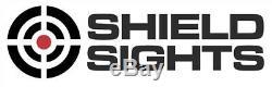 SHIELD REFLEX MINI SIGHT RMS 8MOA RED DOT & MOUNT KIT for GLOCK MOS SLIDE PISTOL