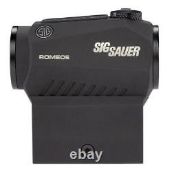 SIG SAUER Romeo5 1x20mm 2.0 MOA Red Dot Sight with Low & Cowitness Mount SOR52001