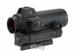 Sig Sauer ROMEO7 1X30mm Full Size Red Dot Sight + Batteries and Lens Cloth