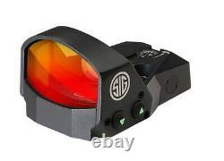 Sig Sauer Romeo1 1x30mm 6 Moa Reflex Red Dot Sight SOR11600, Black