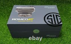 Sig Sauer Romeo4T Circle Plex Reticle 1x20mm Solar Red Dot Sight SOR43032