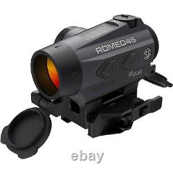 Sig Sauer Romeo 4S Red Dot Sight 1x20mm, QD Mount, Solar, Graphite SOR43022