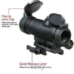 Sig Sauer Romeo 7 Red Dot Sight 1x30mm, SOR71001, 2 MOA Rail Scope