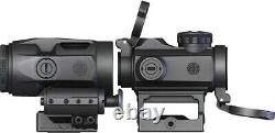 Sig Sauer Romeo-MSR Red Dot Sight 2 MOA With Juliet 3 Micro Magnifier SORJ72001