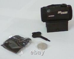 Sig Sauer SOR50000 Romeo5 1x20mm Compact 2 Moa Red Dot Sight Open Box