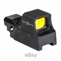 Sightmark Ultra Shot M-Spec Reflex Sight with QD Lever Red Circle-Dot SM26005