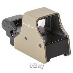 Sightmark Ultra Shot Plus Red Dot Reflex Rifle Scope Sight FDE (SM26008DE)