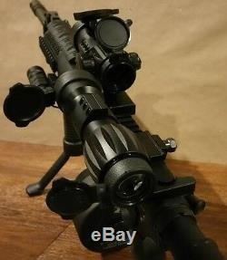TACFIRE RED DOT SIGHT & 7X MAGNIFIER FTS Mount sts eotech aimpoint vortex scope
