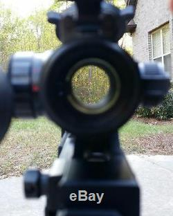 Tactical RED DOT SIGHT & 3X MAGNIFIER Flip to Side Mount eotech aimpoint scope