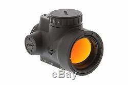 Trijicon 1x25mm MRO 2.0 MOA Adjustable Red Dot Sight Black MRO-C-2200003