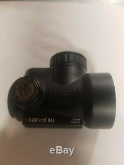 Trijicon 1x25mm MRO 2.0 MOA Red Dot Sight Black No Mount MRO-C-2200003