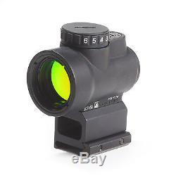 Trijicon 1x25mm MRO 2.0 MOA Red Dot Sight & High Mount Black MRO-C-2200006