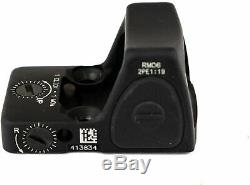 Trijicon 3.25 Adj Red RMR Type 2, Black, 3.25MOA, 700672 Red Dot Sight