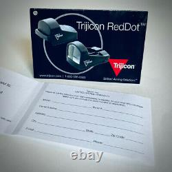 Trijicon J Point Red Dot Reflex Sight