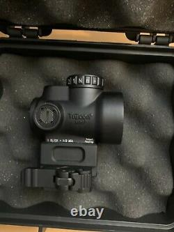 Trijicon MRO Red Dot Sight With 1/3 Lower Co-Witness Midwest Industries Mount