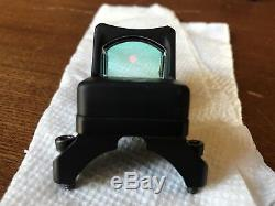 Trijicon RM01 RMR Red Dot Sight with ACOG mount and killflash with sealing plate