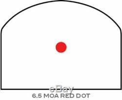Trijicon RMR Type 2 Adjustable LED Red Dot Sight, Black, 6.5MOA, RM07-C-700679