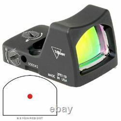 Trijicon RMR Type 2 LED Sight 6.5 MOA Red Dot Reticle Black RM02-C-700607