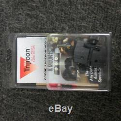 Trijicon RedDot Mini Sight 8.0 MOA withmount and Factory Hard Case