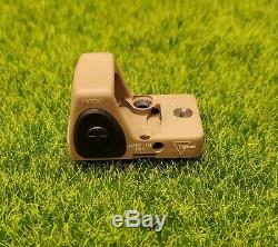 Trijicon Type 2 RMR 1.0 MOA Adjustable LED Red Dot Sight, FDE RM09-C-700745