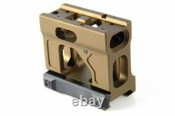 Unity Tactical Fast Micro Red Dot Mount FDE Flat Dark Earth FST-MICF