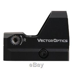 VECTOR OPTICS FRENZY RED DOT REFLEX SIGHT with LOW MOUNT, 3 MOA, LIFETIME WARRANTY