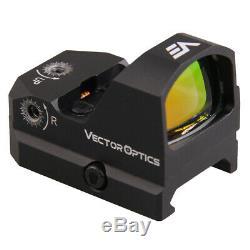 Vector Optics Frenzy Waterproof 3MOA Reflex Red Dot Sight