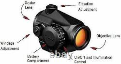 Vortex Optics Crossfire Red Dot Sight CF-RD2 3X Magnifier Built-in Flip Mount